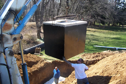 septic installation villanova