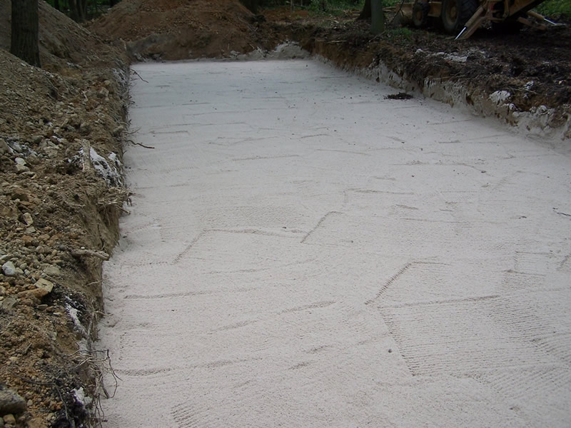 Subsurface Sand System - Sand Installed