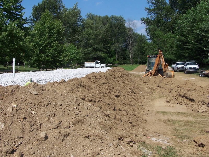 Elevated Sand Mound - Soil Berm