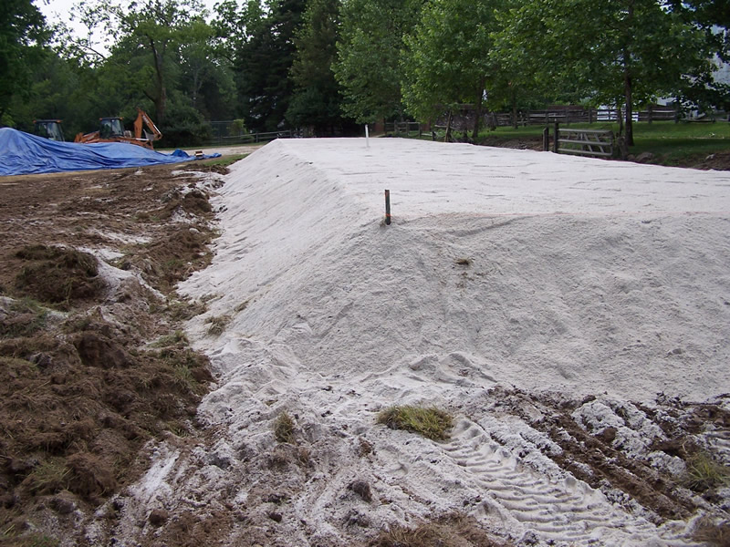 Elevated Sand Mound System