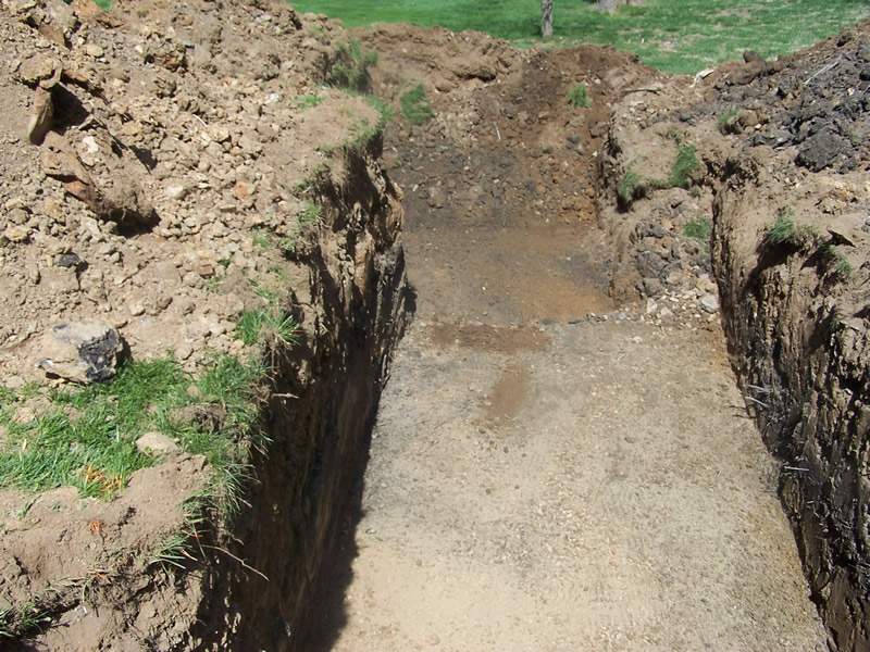 Tank Install - Excavation