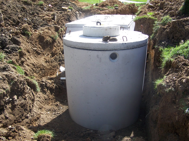 Tank Install - Septic Pump Tanks
