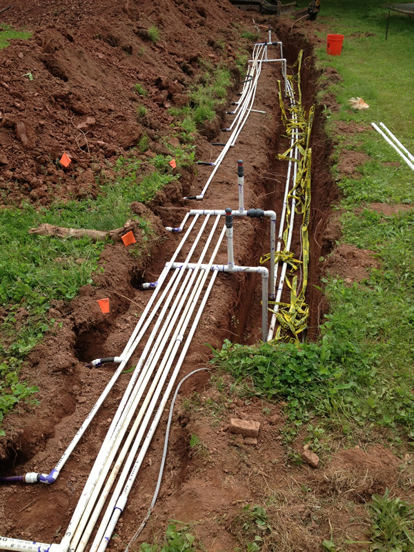 Manifold & Delivery Trench