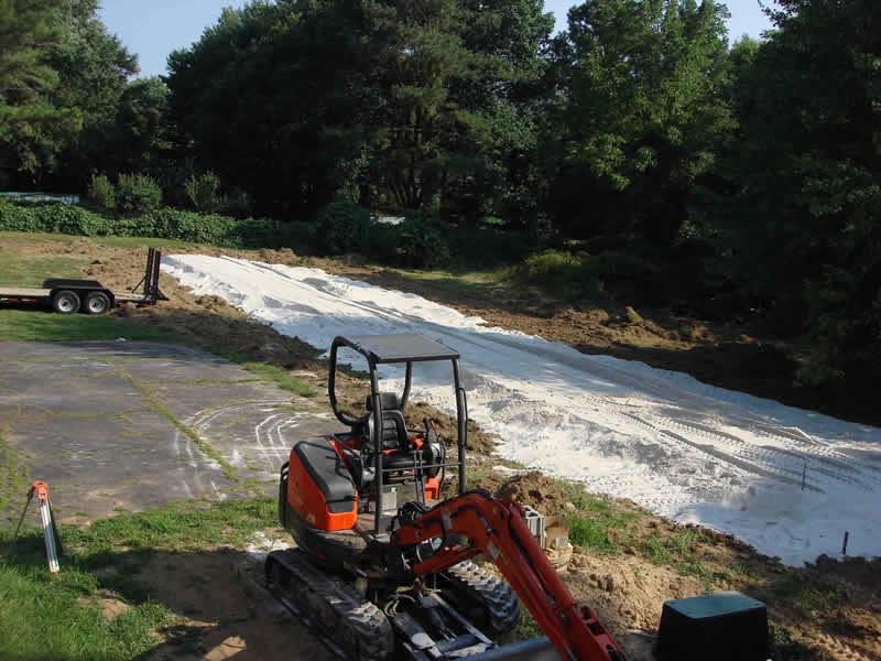 Sand Installation