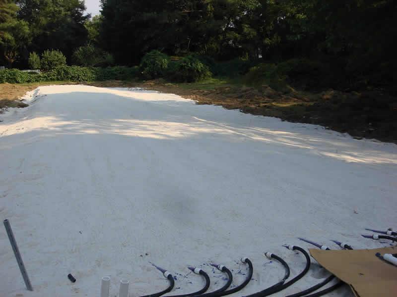 Sand Installation Complete